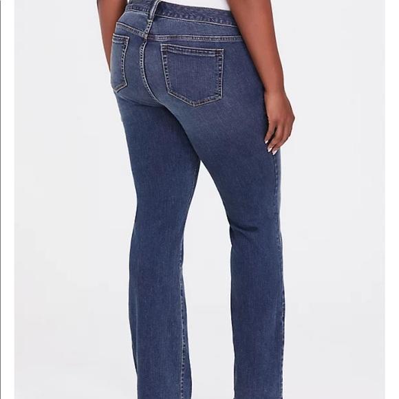 Torrid Medium Wash Relaxed Boot Cut Jeans